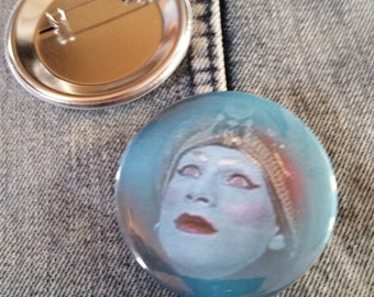 retro style Pee Wee's Playhouse JAMBI pin 2-1/4inch pinback button hand pressed badges Big Adventure 80s 1980s 90s 1990s buttons