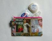 Nurse  Pouch - Nurse Bag - Nurse Make-Up Bag - Gadget Holder - Small Cosmetic Bag - Travel Bag - Nurse Gifts