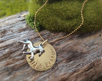 Horse Wild & Free Necklace