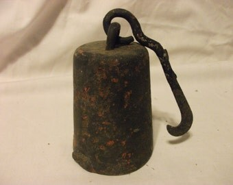 Antique Cotton Scale Pea Weight - 4 lbs.