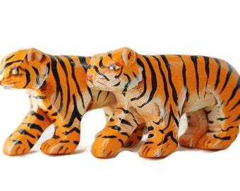 Wooden Noahs Ark Tiger Pair