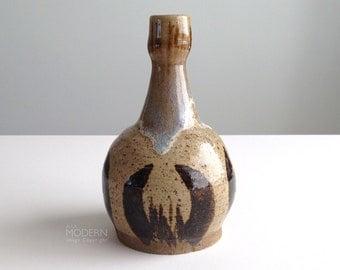 Vintage Robson Studio Pottery Bud Vase Weed Pot Mid Century Modern