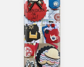 iPhone 6 phone cover - London miscellaneous collage