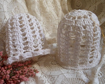 Large Bell Ornaments Crocheted at Quilted Nest