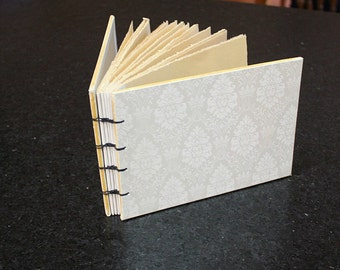 Thin White Wedding Guest Book, Sign In book, Wedding Gift, Photo Album
