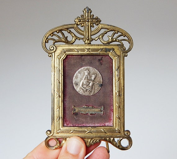 Catholic Plaque French Religious Home Decor