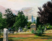 Photography Fine Art Print Atlanta Photography Historic Oakland Cemetery Lustre Print Atlanta Art Georgia Art