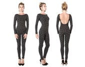 Code Catsuit - Jumpsuit - One Piece - Long Sleeve Leotard - Catsuit - Leotard - Onezie