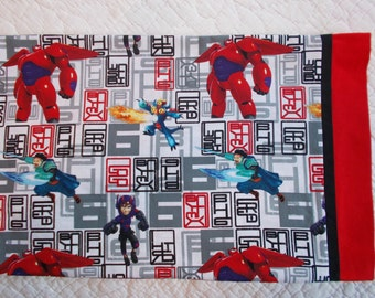 Big Hero 6  Childrens or Travel  Pillow Case