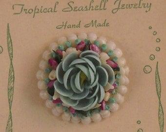 VintageTropical Seashell Jewelry on Original Card
