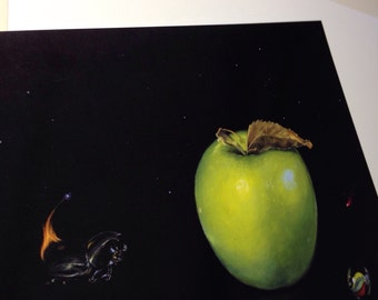 On Fire - Still Life Mini print. Limited edition. Signed and numbered.