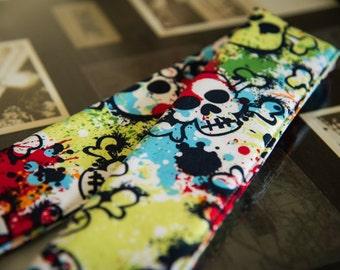 DSLR Camera Strap Cover in Skulls