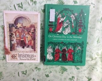 2 Antique Christmas Books