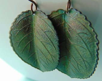 Vintage-Leaf  Errings