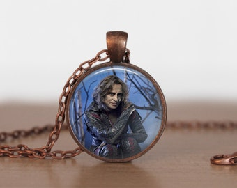 Once Upon A Time Necklace Pendant rumplestiltskin Pendant