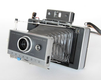 Polaroid 100 Film Pack Camera Tested