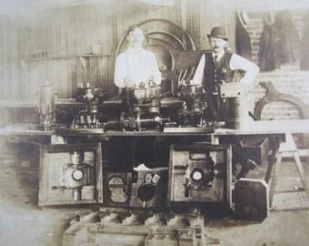Antique Factory Workshop Photograph