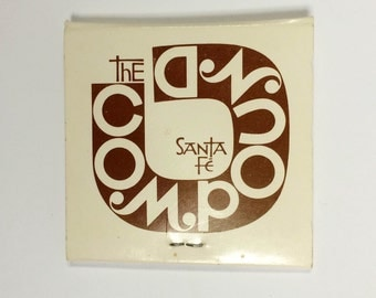 Alexander Girard Matchbook - The Compound Restaurant