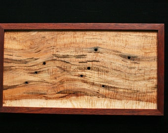Wood Art - Curly Maple and Bloodwood