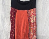 Recycled sweater skirt medium   sm0008