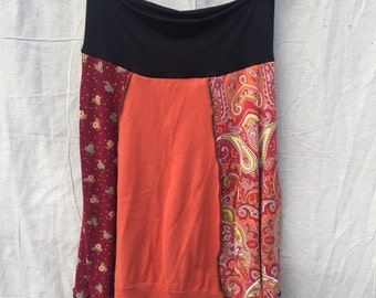 Recycled sweater skirt medium   sm0008
