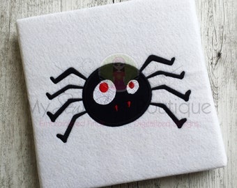 Halloween Spider Applique Designs Machine Embroidery Patterns - Applique Downloads - Holiday Appliques - 5 Sizes - Instant Download