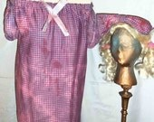 OOAK Handmade Upcycled Halloween Baby Doll Zombie Costume w/ Pig Tail Wig
