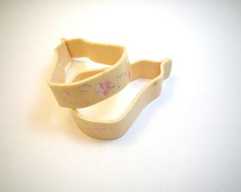 Celluloid Baby Carriage Blanket Clips 1930s