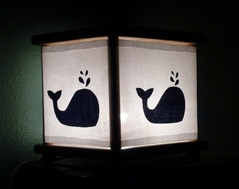Whale Night Light Decor Whales Nightlight