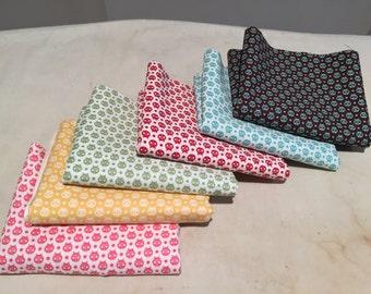 Moda Flutterby Ladybugs 6 FE set by Tula Pink