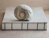 grey linen guestbook or photo album