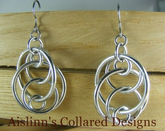 Illusions Loop Earrings