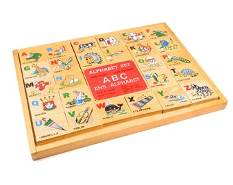 Alphabet Set - Wooden Puzzle