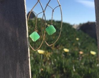 Gold and Peruvian Opals