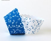 Music Notes Cupcake Wrappers in more Colours PDF