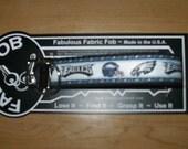 Philadelphia Eagles NFL Football Team ~ J58 ~ Key Chain Fob ~ Zipper Pull