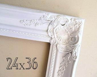 24x36 picture frame etsy. Black Bedroom Furniture Sets. Home Design Ideas