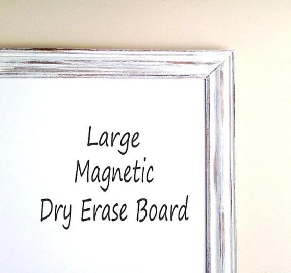 Decorative White Boards magnetic dry erase board framed whiteboard large framed
