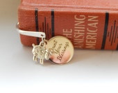 Bookmark, Book Lover, Reader, Unisex Gift, Charm Bookmark