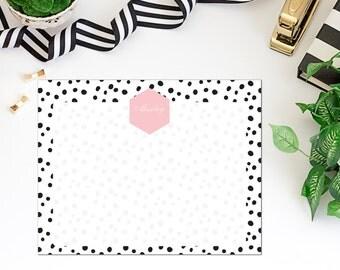 Personalized deskpad/mousepad monogram choice of colors