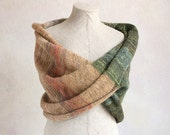 Chunky knit scarf shawl infinity scarves knitted scarves Mossy Ridge winter scarves womens scarves knit scarves ready to ship gift