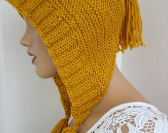 Mustard Yellow  slouch hat