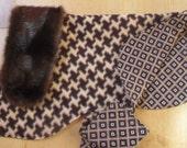 ENGLISH BULLDOG Reversible Coat,Fleece,Fall, winter dog coat, Ski wear,Faux Fur Collar  Brown,Tan, Black,Reversible Bulldog coat, dog coat