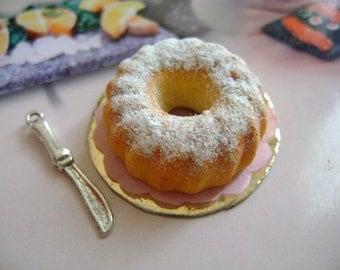 Dollshouse Food 1:12 cake  sweet Puppenstube Küchen Miniatur, maison de poupées cake sweet