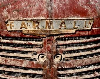 Dusty Farmall Tractor