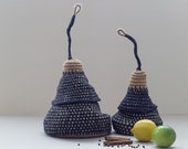 Sale - The Pod Family Baskets in black - set of two baskets - 20% off