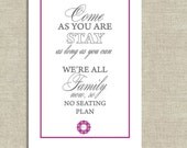 NEW Printable Wedding Welcome Sign