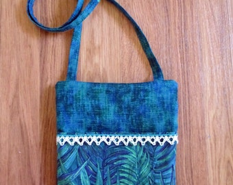Run Around Town Zipper Pouch Cosmetic Toiletry Electronics Pouch Wrist Clutch Lined and Padded