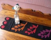 Fall Autumn Leaves Wool Penny Rug Table Runner