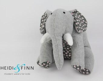 NEW big Gray grey Elephant plush stuffed animal